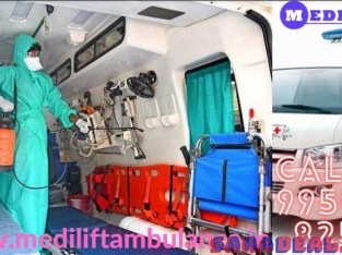 Hi-Tech Medilift Ambulance Service in Patna with Latest Medical Tools