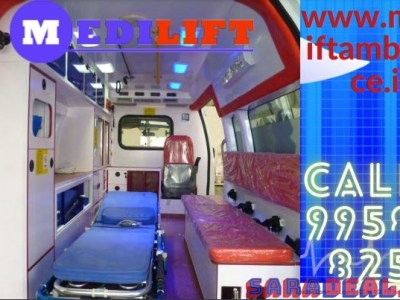 Pick Medilift Safe Patient Transfer Ambulance Service in Ranchi