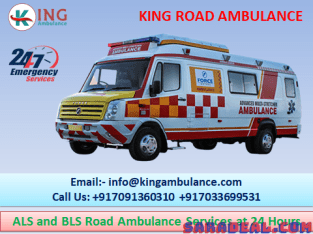 Hi-Tech & Cost-Effective Ambulance Service in Ranchi-King Road Ambulance