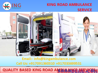 Pick the Best Ambulance Service in Kankarbagh Patna-King Road Ambulance