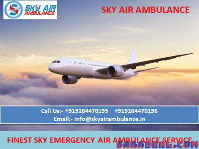 Outstanding and Safe Air Ambulance Service in Jammu – Sky Air
