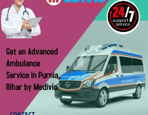 Advanced Life Support Ambulance Service in Purnia, Bihar by Medivic