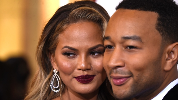 John Legend & Chrissy Teigen New Baby is Here