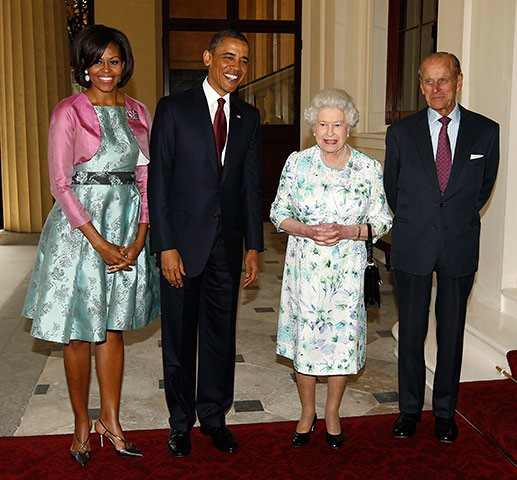 The Obamas Dine with the Royals