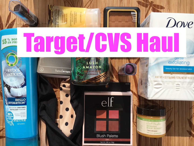 Target/CVS Haul   June 2016