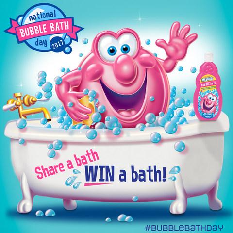 Giveaway! Bubble Bath by Mr. Bubble