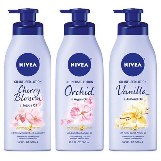 Beiersdorf NIVEA Oil Infused Lotions