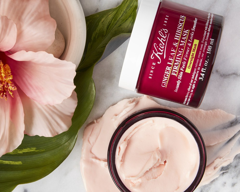 Ginger Leaf and Hibiscus Firming Mask