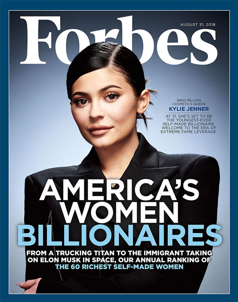 Kylie Jenner Lands Forbes Cover + Critics Respond