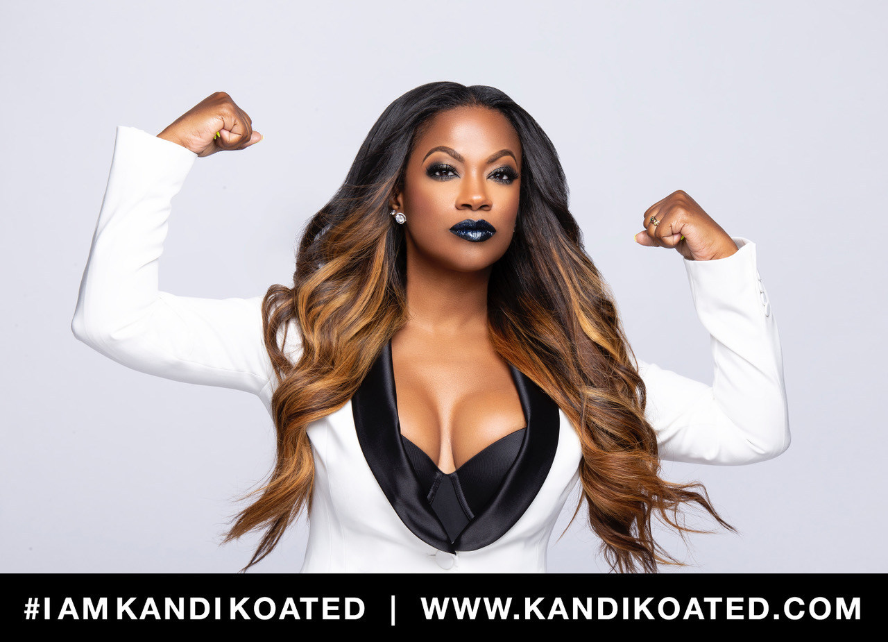 Kandi Burruss Launches Kandi Koated Cosmetics Collection