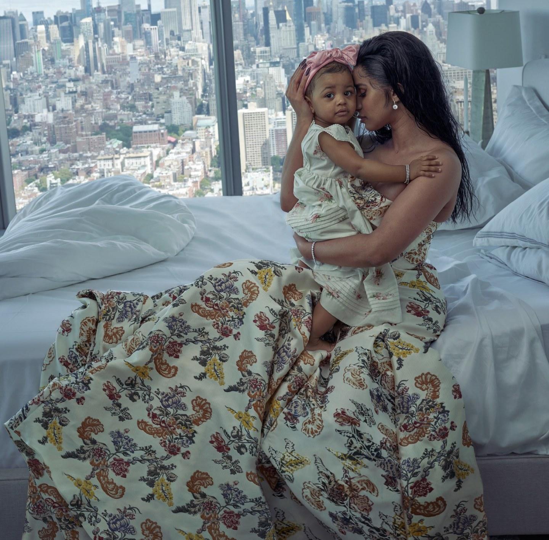 Cardi B and daughter