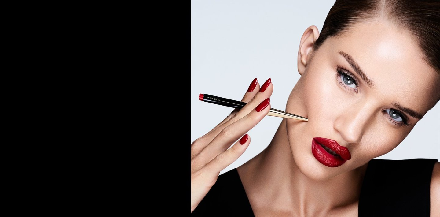 Rosie Huntington-Whiteley Partners with Hourglass