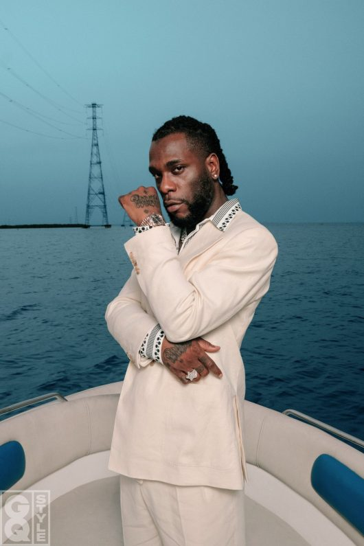 Burna Boy in Lagos