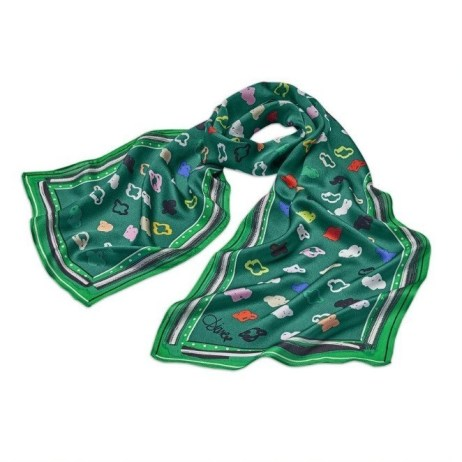 Limited-Edition Girl Scout Scarf by Diane von Furstenberg