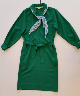 Bill Blass Girl Scout dress