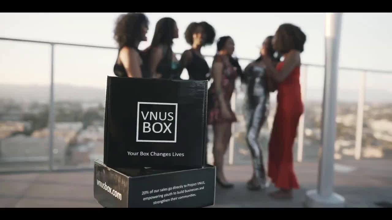 Black-Owned 'Vnus Box' Offers Curated Goods for a Cause