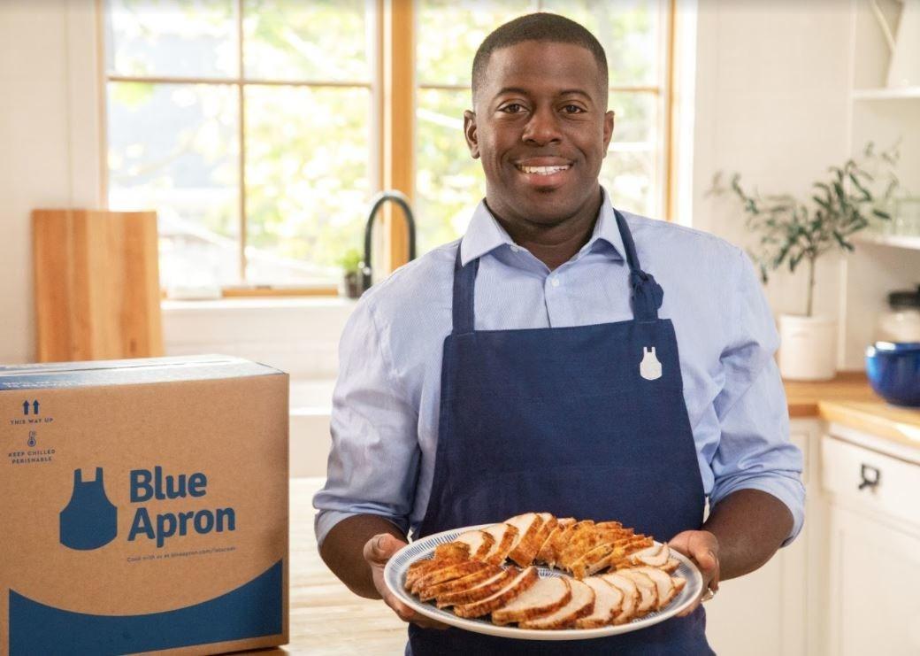 Blue Apron Teams with Chef Edouardo Jordan