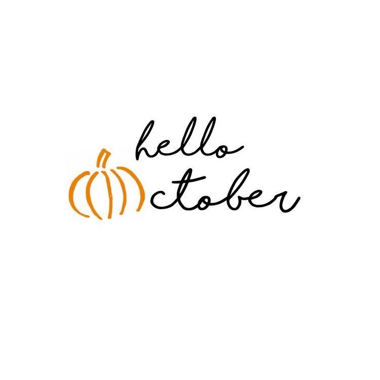 Hello October + Career Inspiration!