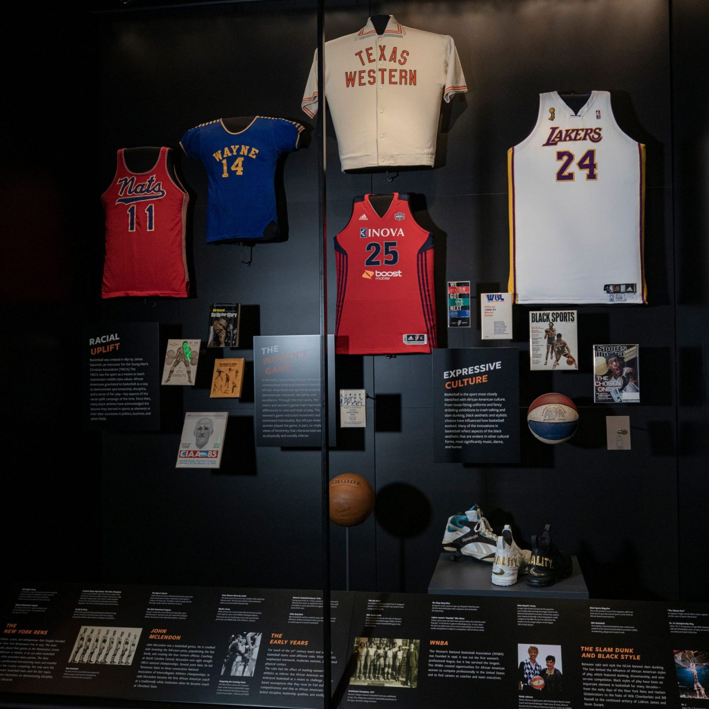 Kobe Bryant's Jersey Now on Display at National Museum of African American History & Culture