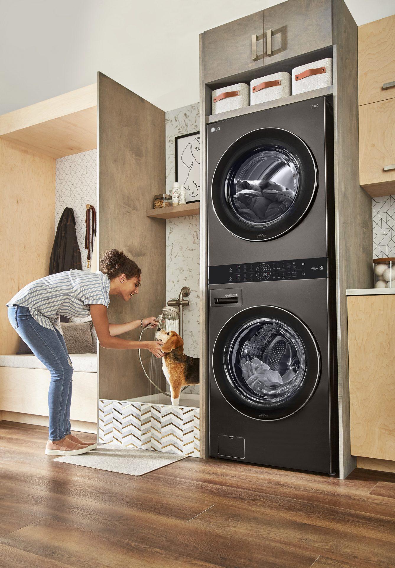 LG Modernizes Laundry with Breakthrough 'LG WashTower'