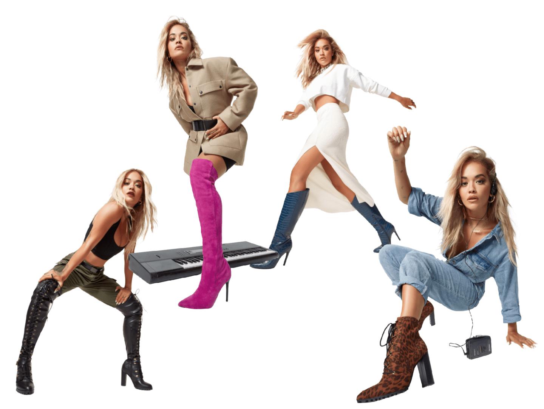 Rita Ora Drops New Shoe Collab With ShoeDazzle