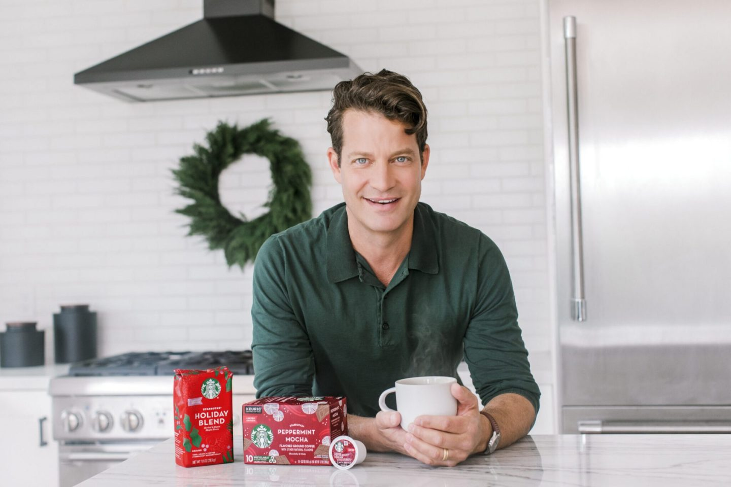 Starbucks Teams with Nate Berkus for Holiday at-home Portrait Series