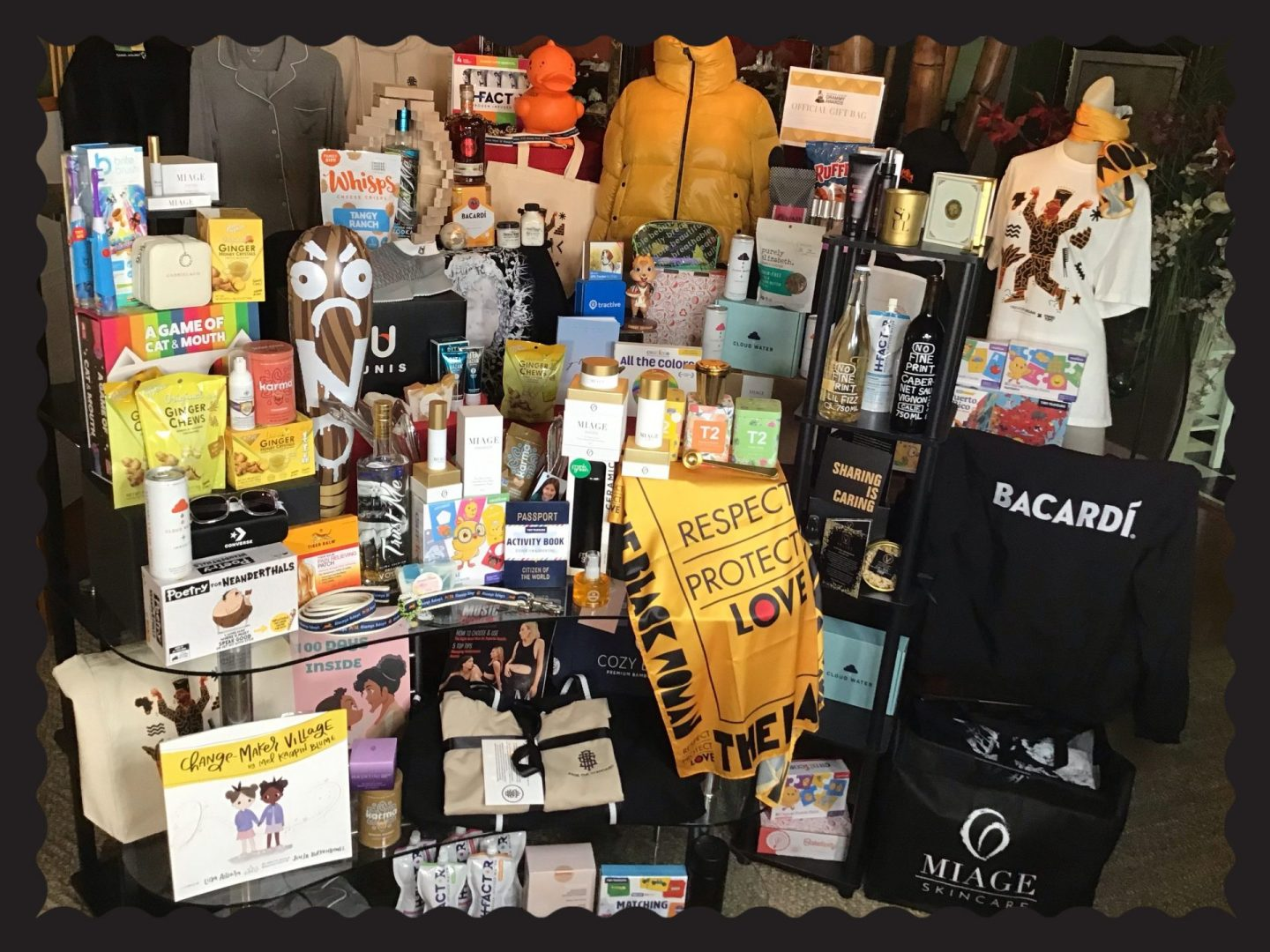 All the things in this year's Grammy® gift bag!