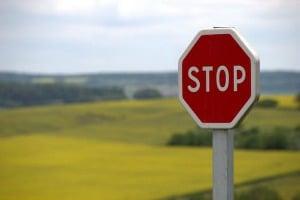 Sara Grillo - stop sign - copywriting mistakes