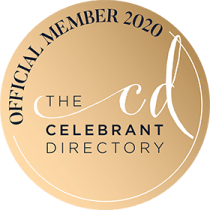 Sarah Celebrant.  Official Member of the Celebrant Directory 2020
