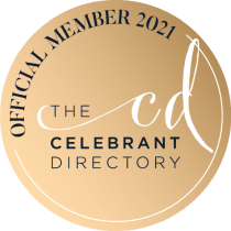 Sarah Celebrant.  Official Member of the Celebrant Directory 2021