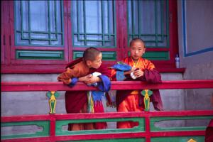 Kindermönche_Mongolei