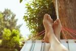 summer vacation in the hammock