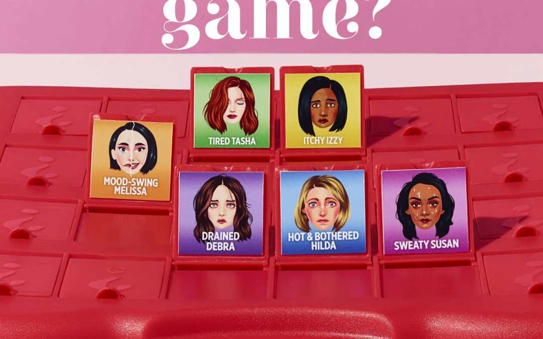 Recent writing: Feeling off your game? On perimenopause