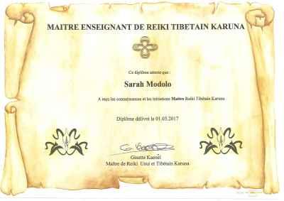 Reiki Tibétain Karuna