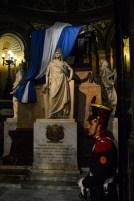 Guarding the mausoleum