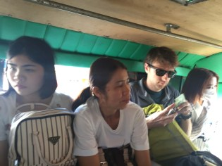 Pick-up taxi ride to our guesthouse, where we spoke with the local woman who warned us against our 8-day stay.