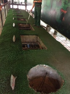 Examples of traps used by the Viet Cong during the war. It was a lot to take in.