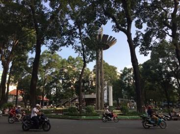 Turtle Lake, downtown Saigon.