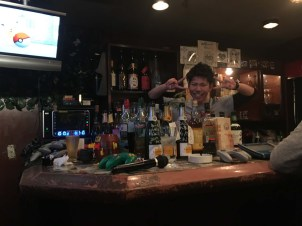 Small bar with video games