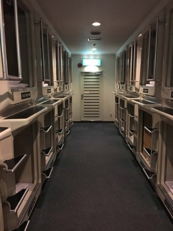 And a capsule hotel