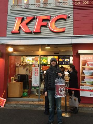 Our KFC Christmas barrel