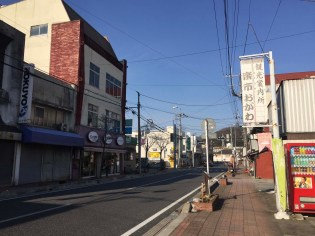 Ogawa-machi's downtown.