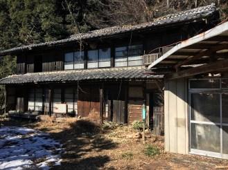 Abandoned creepy house.