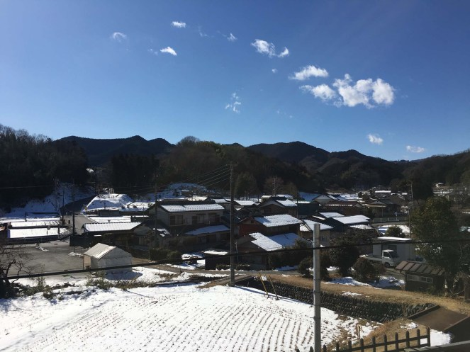 The small village we stayed in near Ogawa.
