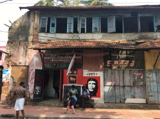 Kerala is known for its strong communist party.