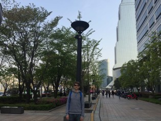 Gangnam district - lots of malls and lots of business.