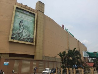 Lulu Mall, largest mall in the country.