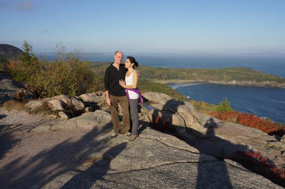 Sarah and I, Acadia in the Fall