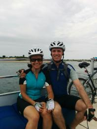 Cycling Martha's Vineyard, Bike Ferry to Aqquinah