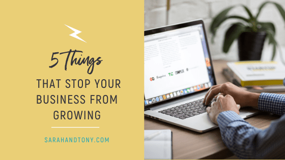 5 Things that Stop your Business from Growing